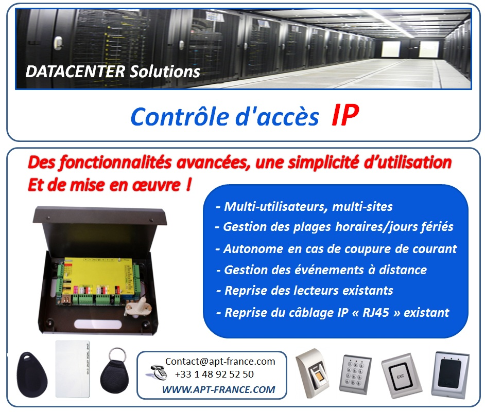 dcs controle acces ip
